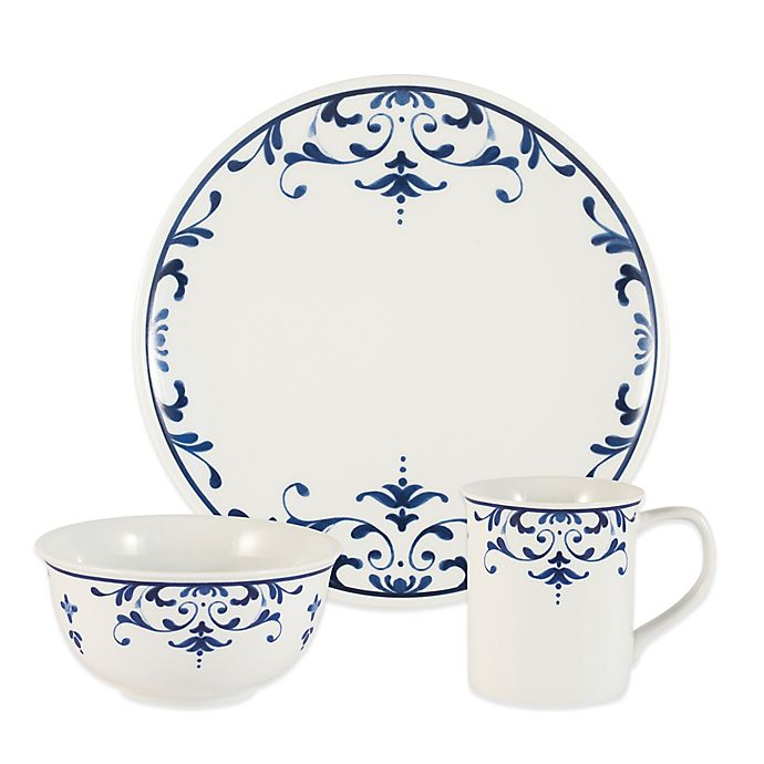 9d4d31e8998a Everyday White® by Fitz and Floyd® Infusion Dinnerware Collection ...