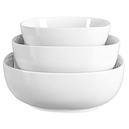 Tabletops Unlimited® Denmark Tools for Cooks® Oven to Table 3-Piece Serving Bowl Set