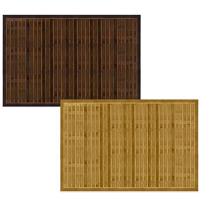 Bamboo 4 Foot X 6 Foot Floor Mat Bed Bath Amp Beyond