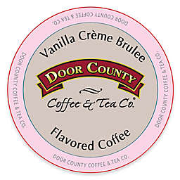 12-Count Door County Coffee & Tea Co.® Vanilla Creme Brulee for Single Serve Coffee Makers
