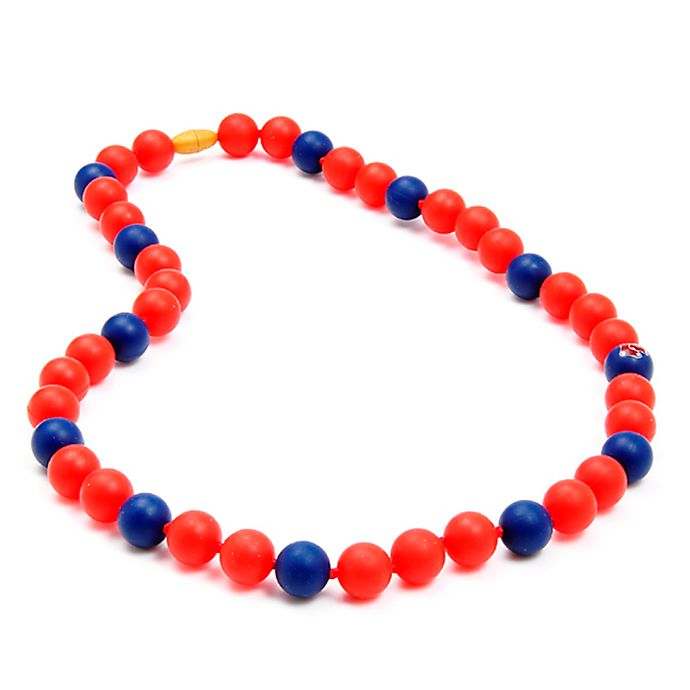 Alternate image 1 for chewbeads® MLB Boston Red Sox Gameday Teething Necklace