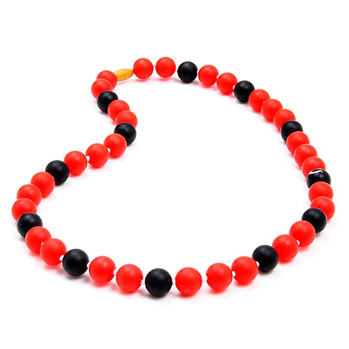Alternate image 1 for chewbeads® MLB Cincinnati Reds Gameday Teething Necklace