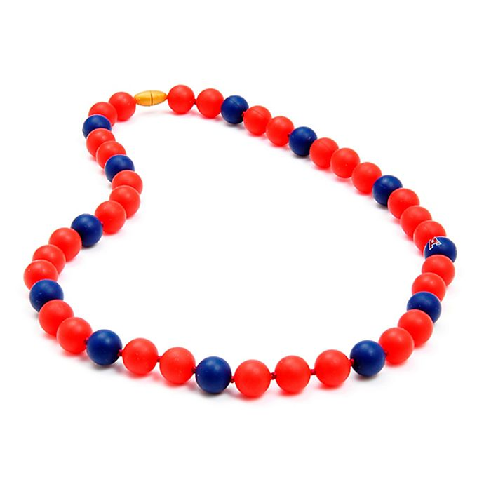 Alternate image 1 for chewbeads® MLB Los Angeles Angels Gameday Teething Necklace