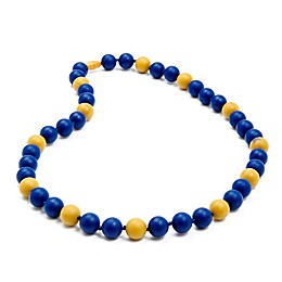 chewbeads® MLB Milwaukee Brewers Gameday Teething Necklace