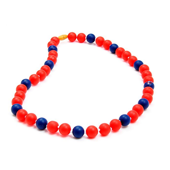 Alternate image 1 for chewbeads® MLB Minnesota Twins Gameday Teething Necklace