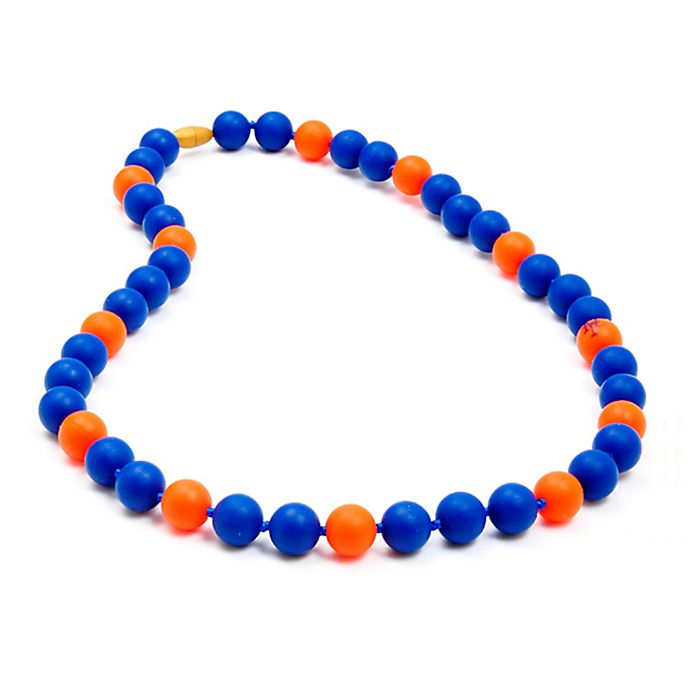 Alternate image 1 for chewbeads® MLB New York Mets Gameday Teething Necklace