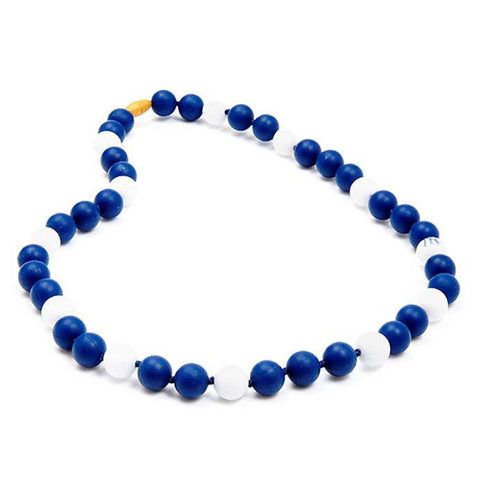 Alternate image 1 for chewbeads® MLB New York Yankees Gameday Teething Necklace