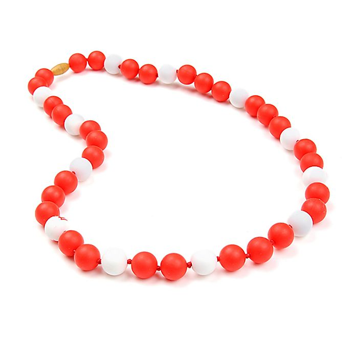 Alternate image 1 for chewbeads® MLB St. Louis Cardinals Gameday Teething Necklace