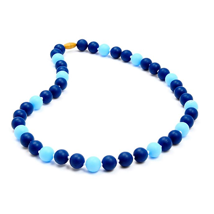 Alternate image 1 for chewbeads® MLB Tampa Bay Rays Gameday Teething Necklace