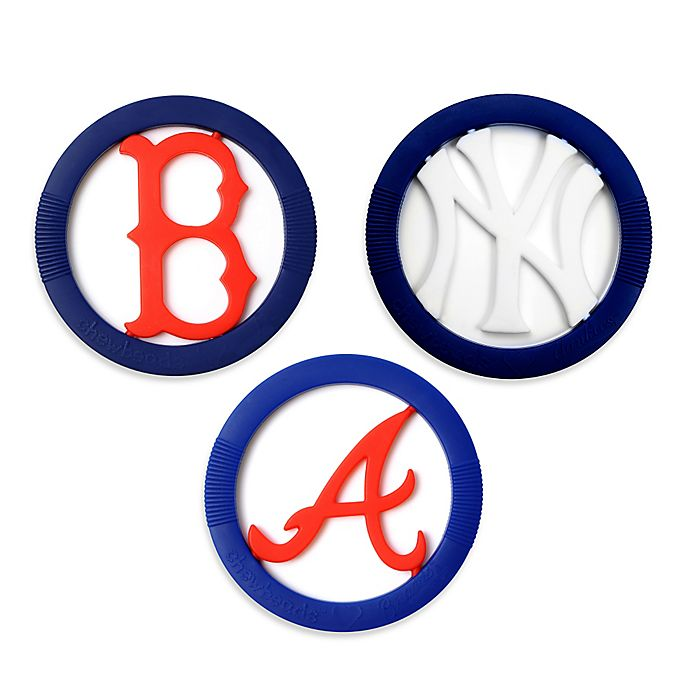 Alternate image 1 for chewbeads® MLB Gameday Teether