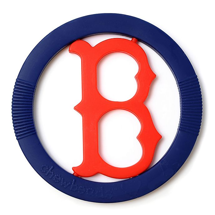 Alternate image 1 for chewbeads® MLB Boston Red Sox Gameday Teether