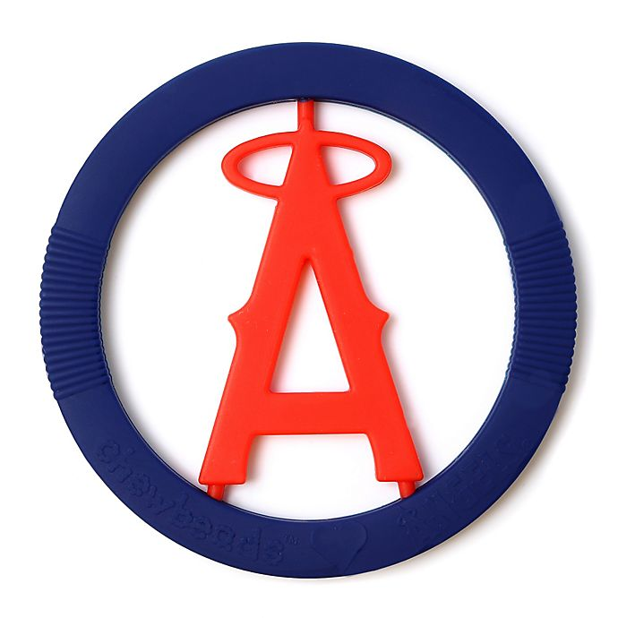 Alternate image 1 for chewbeads® MLB Los Angeles Angels Gameday Teether