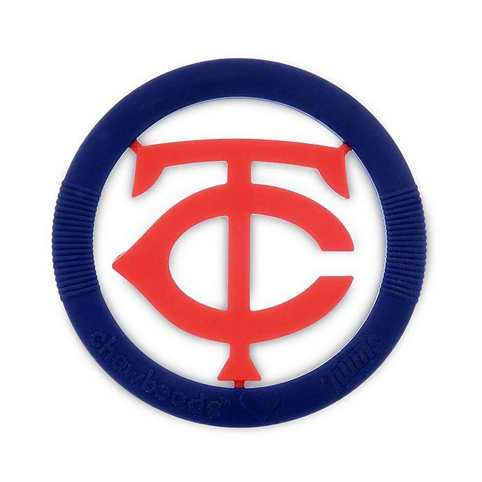 Alternate image 1 for chewbeads® MLB Minnesota Twins Gameday Teether