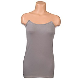 Undercover Mama™ Strapless Nursing Tank in Grey
