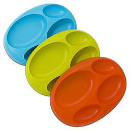 Boon® PLATTER Edgeless Non-Skid Divided Plate (Set of 3)