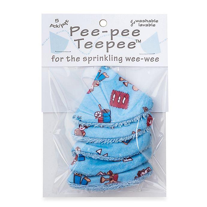Alternate image 1 for beba bean 5-Pack Pee-Pee Teepee™ in Wild West