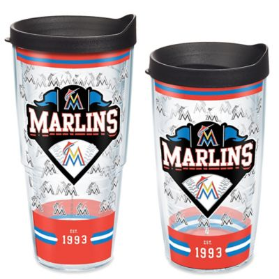 bcc5c66375d5b Tervis® MLB Miami Marlins Classic Wrap Tumbler with Lid