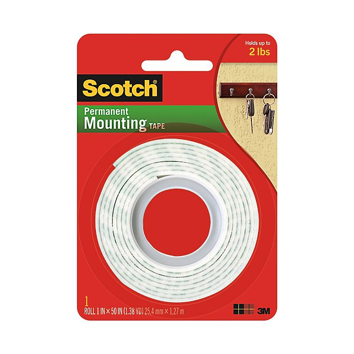 Alternate image 1 for 3M Scotch® Heavy Duty Mounting Tape Roll