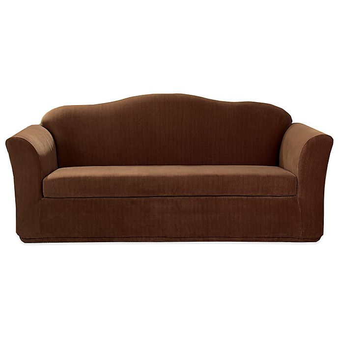 Stupendous Sure Fit Stretch Corduroy Furniture Slipcover Creativecarmelina Interior Chair Design Creativecarmelinacom