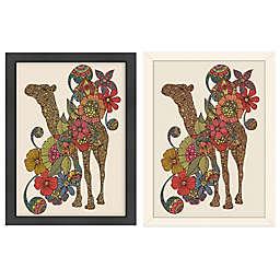 Americanflat Valentina Ramos Easy Camel Digital Print Wall Art