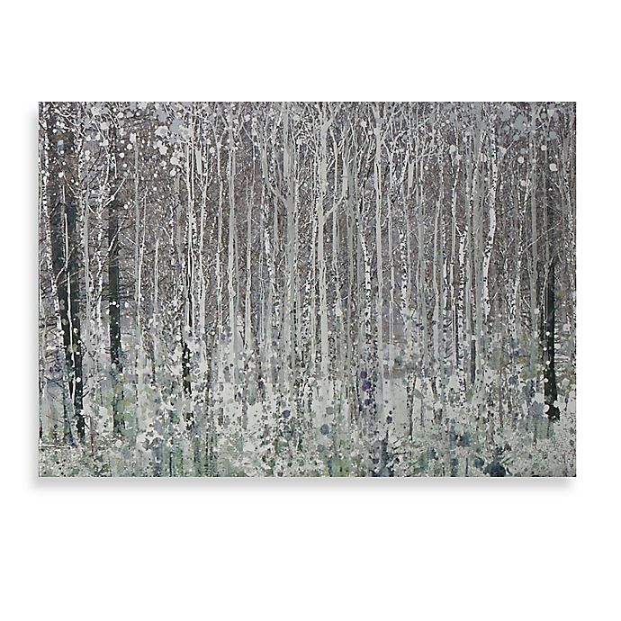 Alternate image 1 for Graham & Brown Watercolour Woods Printed Canvas Wall Art