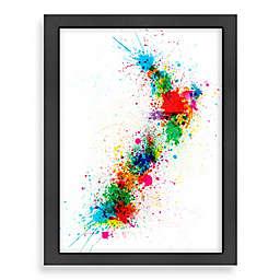 Americanflat Art Pause Colour Map 4 Wall Art