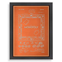 Americanflat Darrow Monopoly® Blueprint Wall Art
