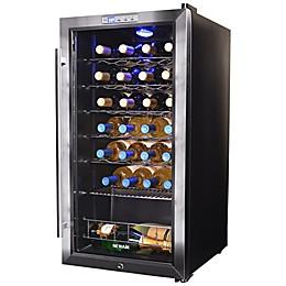 NewAir® Silent Wine Refrigerator 27 Bottle in Stainless Steel