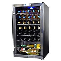 NewAir® Silent 33-Bottle Wine Refrigerator in Stainless Steel