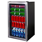 NewAir® Beverage Refrigerator 126 Can Cooler in Stainless Steel