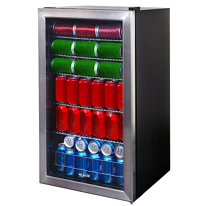 Alternate image 1 for NewAir® Stainless Steel 126-Can Beverage Center
