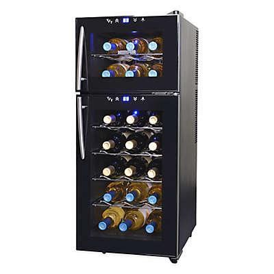 NewAir® 21-Bottle Dual-Zone Wine Cooler
