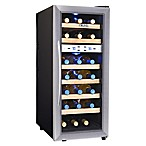 NewAir® Stainless Steel 21-Bottle Dual-Zone Wine Cooler
