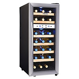 NewAir® Silent Wine Cooler 21 Bottle Dual Zone in Stainless Steel