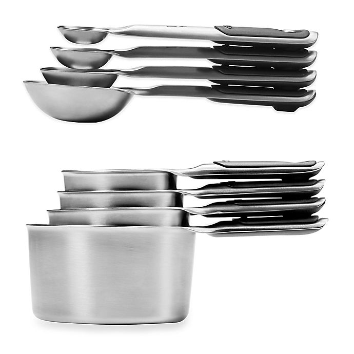 Alternate image 1 for OXO Good Grips® Stainless Steel Measuring Cups and Spoons