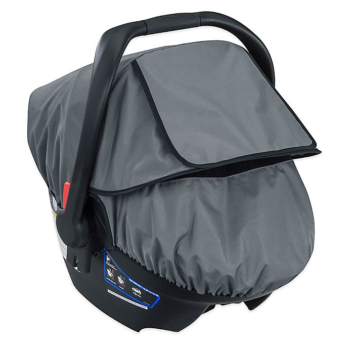 Alternate image 1 for Britax B-Covered All-Weather Car Seat Cover in Grey