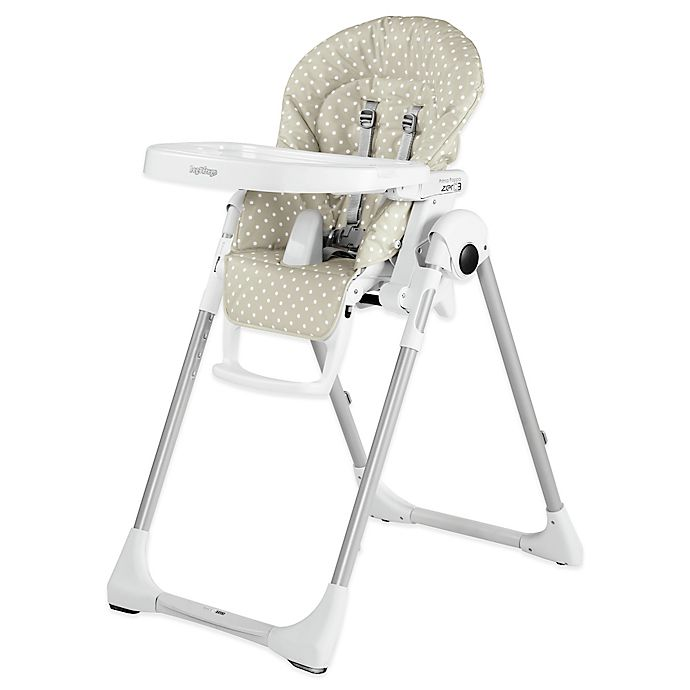 Peg Perego Prima Pappa Zero 3 High Chair In Baby Dot Beige