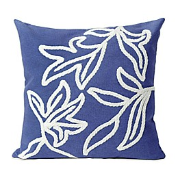 Liora Manne Windsor 20-Inch x 20-Inch Outdoor Throw Pillow in Blue