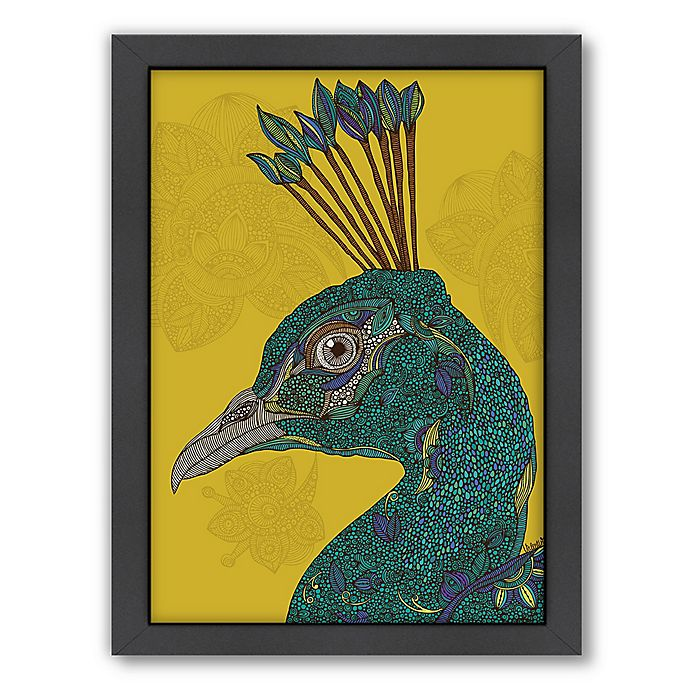 Alternate image 1 for Americanflat Valentina Ramos Alexis 21-Inch x 27-Inch Framed Wall Art in Black