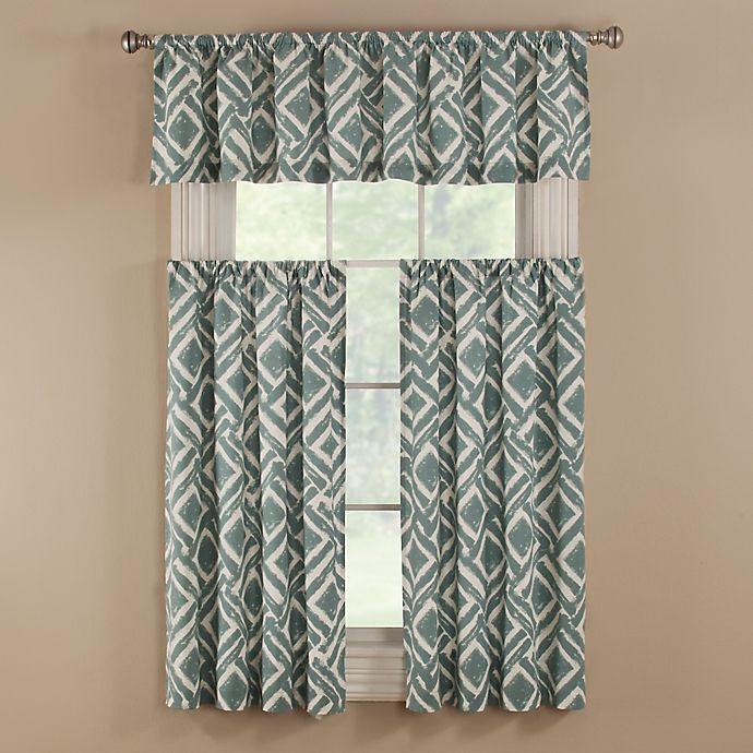Alternate image 1 for Colorado Bath Window Curtain Tier Pair