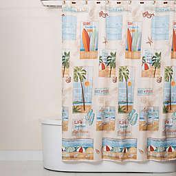Beach Time 70-Inch x 72-Inch Shower Curtain