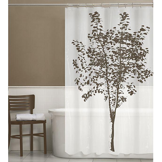 Arbor PEVA Shower Curtain in Brown | Bed Bath & Beyond