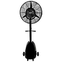 Luma Comfort MF26B 26-Inch 3-Speed Oscillating Misting Fan