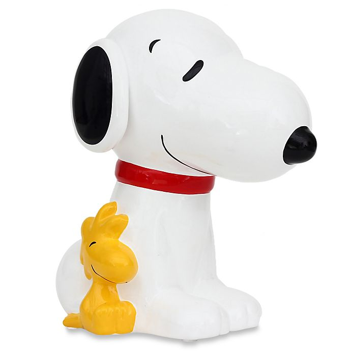 Alternate image 1 for Peanuts® Snoopy Piggy Bank