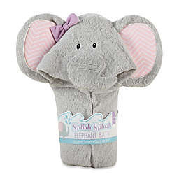 Baby Aspen Splish-Splash Elephant Hooded Spa Towel
