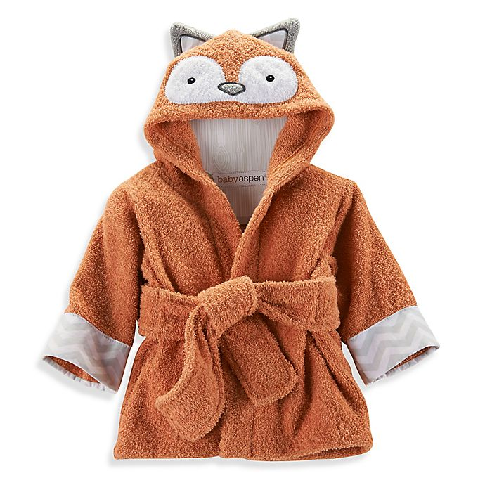 Alternate image 1 for Baby Aspen Rub-a-Dub, Fox in the Tub Hooded Spa Robe