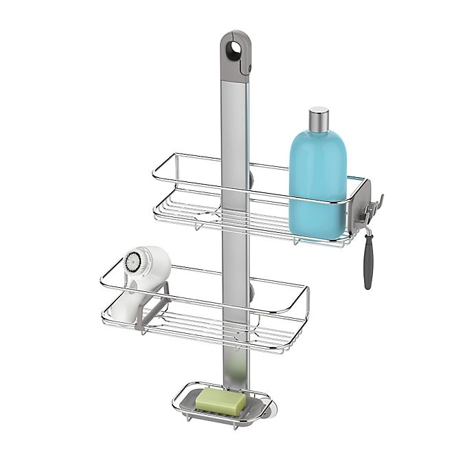 Bed Bath And Beyond Shower Caddy simplehuman® adjustable shower caddy | bed bath & beyond