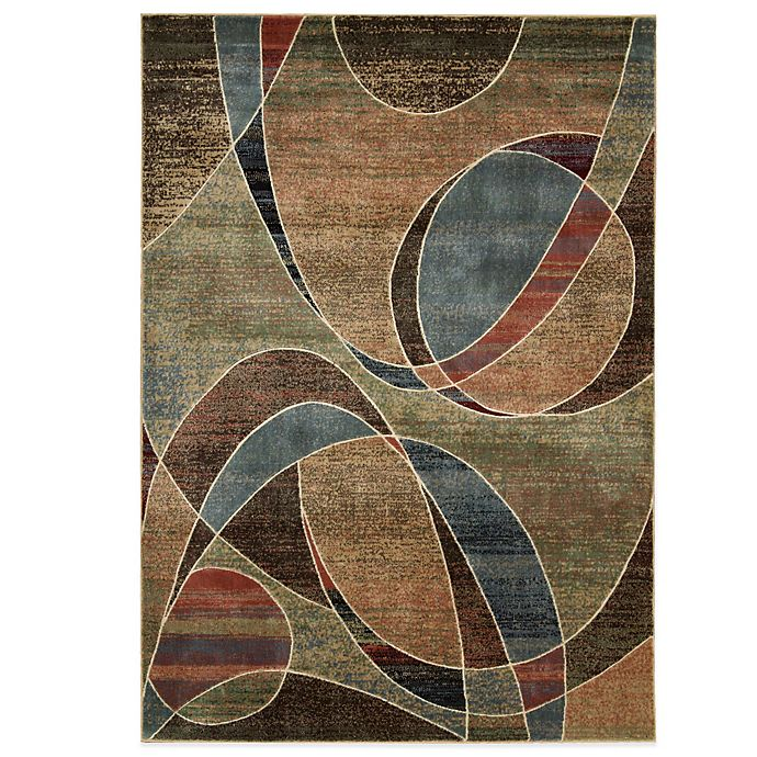 Alternate image 1 for Nourison Expressions Abstract Area Rug in Multicolor