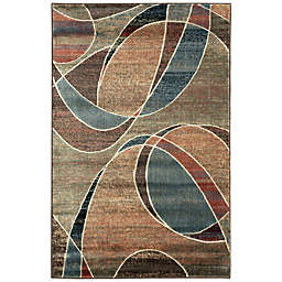 Nourison Expressions Abstract 3'6 x 5'6 Multicolor Area Rug