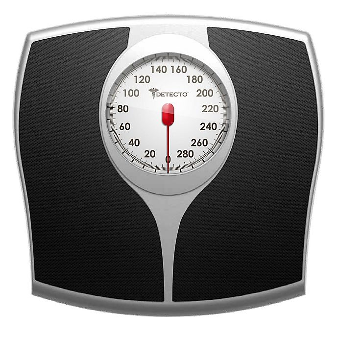 Detecto Pro Style Analog Bathroom Scale Bed Bath And